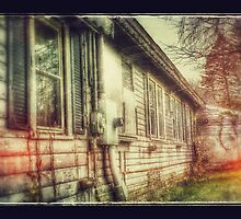Spooky Ghostly Old House in Upstate New York Photography and Gifts by Albany Retro