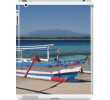 Indonesian boat iPad Case/Skin