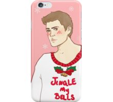 Jingle Dean  iPhone Case/Skin