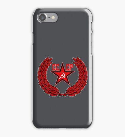 Russian Soviet Red CCCP iPhone Case/Skin
