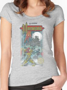 Metroidvania Women's Fitted Scoop T-Shirt