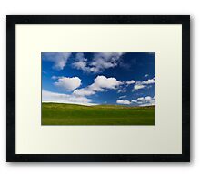 First Impressions of Earth Framed Print