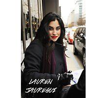 Lauren Jauregui Winter Photographic Print
