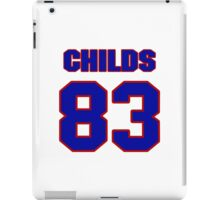National football player Henry Childs jersey 83 iPad Case/Skin