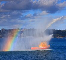 Fire Water Rainbow by Cameron O'Neill
