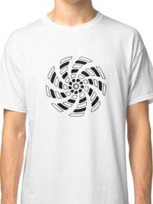 Mandala 29 Back In Black Classic T-Shirt