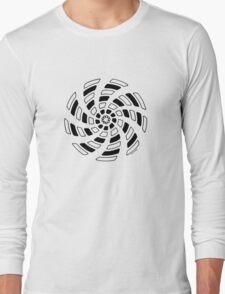 Mandala 29 Back In Black Long Sleeve T-Shirt