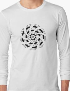 Mandala 29 Back In Black T-Shirt