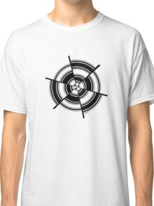 Mandala 28 Back In Black Classic T-Shirt
