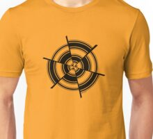 Mandala 28 Back In Black Unisex T-Shirt