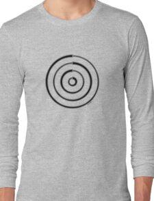 Mandala 27 Back In Black Long Sleeve T-Shirt