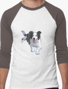 Bonnie # 2 Men's Baseball ¾ T-Shirt