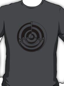 Mandala 19 Back In Black T-Shirt