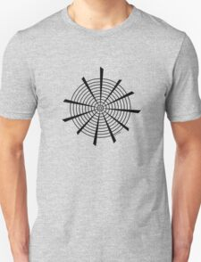 Mandala 18 Back In Black T-Shirt