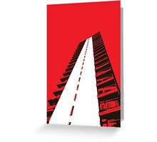 Tolworth Tower Greeting Card