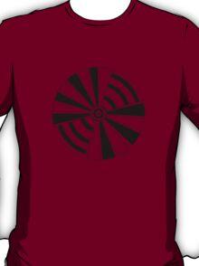 Mandala 17 Back In Black T-Shirt