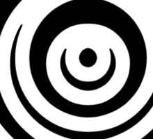Mandala 16 Back In Black Sticker