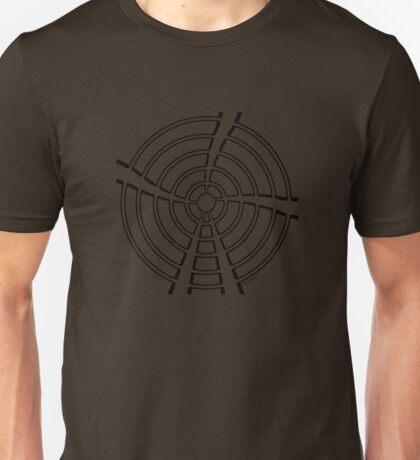 Mandala 13 Back In Black Unisex T-Shirt