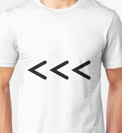 Chevrons Unisex T-Shirt