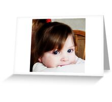 Baby Boos Big Blues Greeting Card