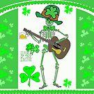 Leprechaun Skeleton by kabsannie