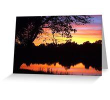 Boring sunset shot Greeting Card