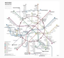 Moscow metro map Kids Clothes