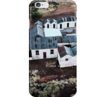 Patroni's guest house, Gwalia ghost town (photo Dave Carter) iPhone Case/Skin