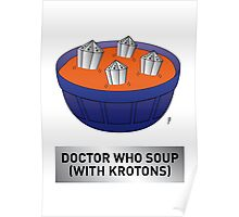 Doctor Who Krotons Soup Poster