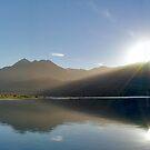 Lake Wakitipu Sunrise  by Darren Newbery