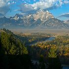 Snake River Overlook - Grand Tetons National Park by Dennis Jones - CameraView