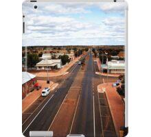 The main street of Menzies (photo Dave Carter) iPad Case/Skin