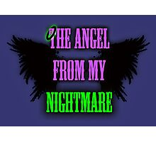 The Angel from my Nightmare Photographic Print