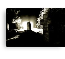 The Graveyard Canvas Print