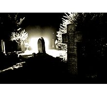 The Graveyard Photographic Print