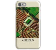 Vintage Football Grounds - Anfield (Liverpool FC) iPhone Case/Skin