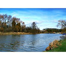 Warwickshive Avone - Down By The River Photographic Print