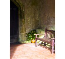 The Portico Photographic Print