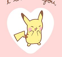 Pikachu Valentine V2 by Steph Hodges