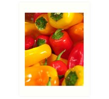 Peppers #01 Art Print