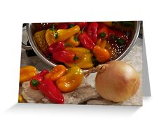 Peppers #02 Greeting Card