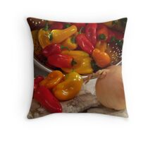 Peppers #02 Throw Pillow