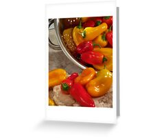 Peppers #04 Greeting Card