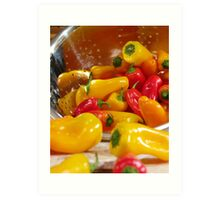 Peppers #03 Art Print