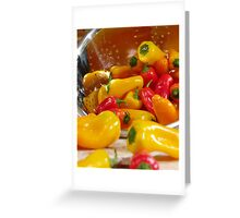 Peppers #03 Greeting Card