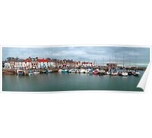 Anstruther harbour II Poster