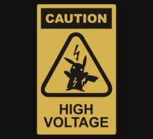 Pikachu high voltage pokemon by maocat