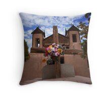 El Santuario Throw Pillow