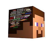 Minecraft Steve Brain of Minecraft by HyperDerpz