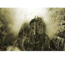 Sepia Colossus Photographic Print